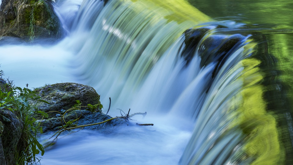 Water, Waterfall, Nature, River, Motion, Travel
