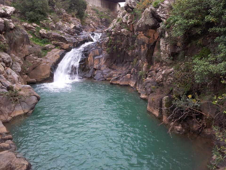 Waterfall, Water, Natural Water, Waters, Nature, River