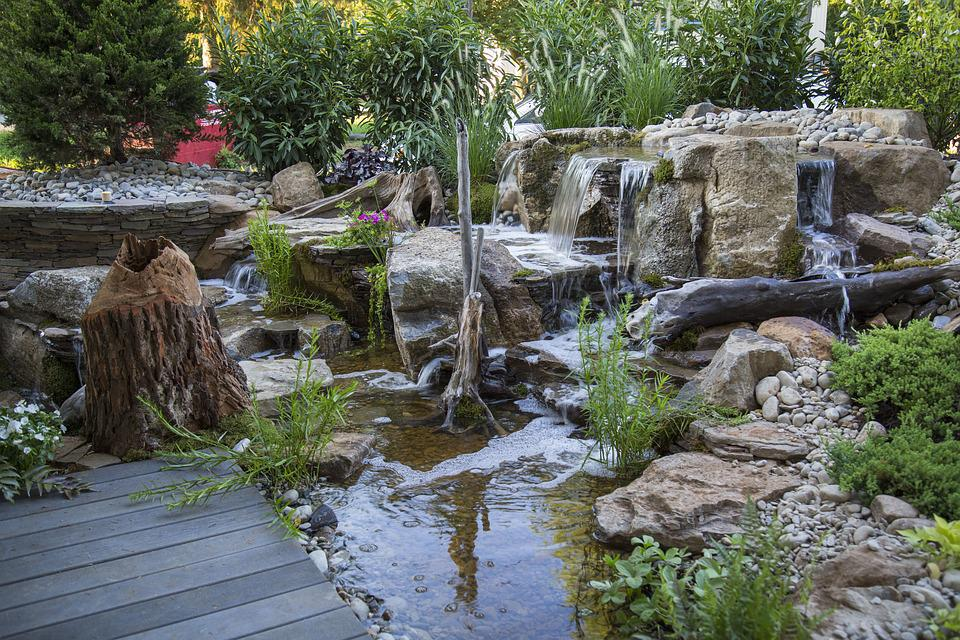 Waterfalls For Backyard free photo waterfalls backyard waterfall pondless waterfalls - max pixel