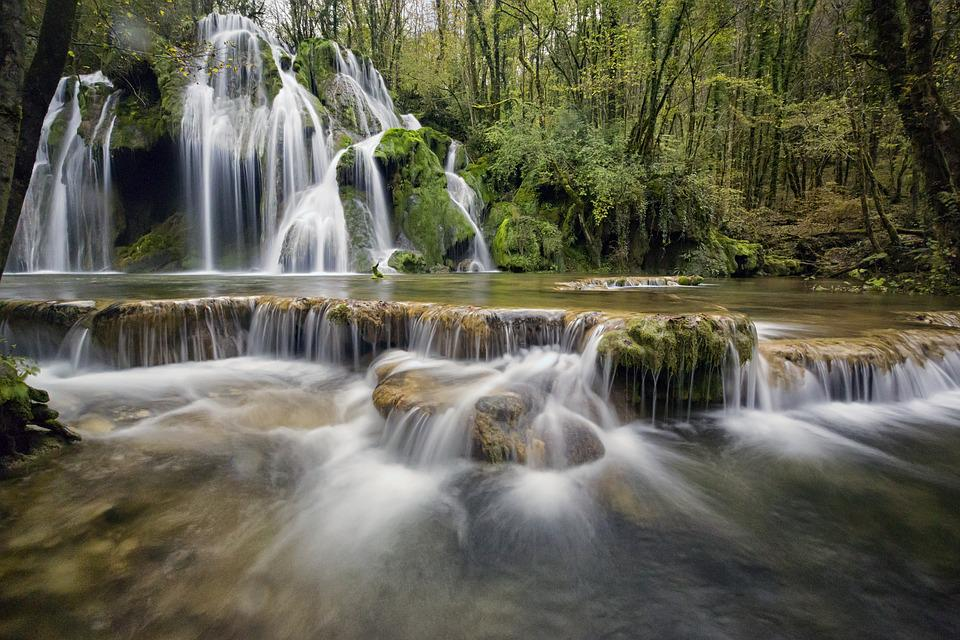 Waterfalls, Waterfall, Water, Cascade, Nature, River