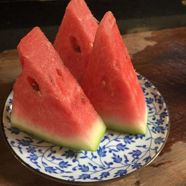 Watermelon, Afternoon Tea, Fruit