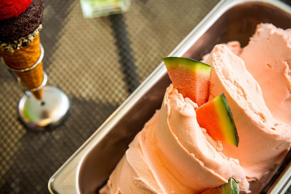 Ice Cream, Watermelon, Watermelon Los Angeles Or Even