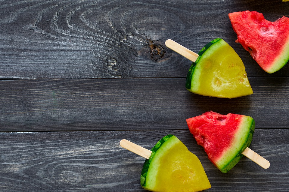 Watermelon, Fruit, Food, Sliced, Watermelon On A Stick