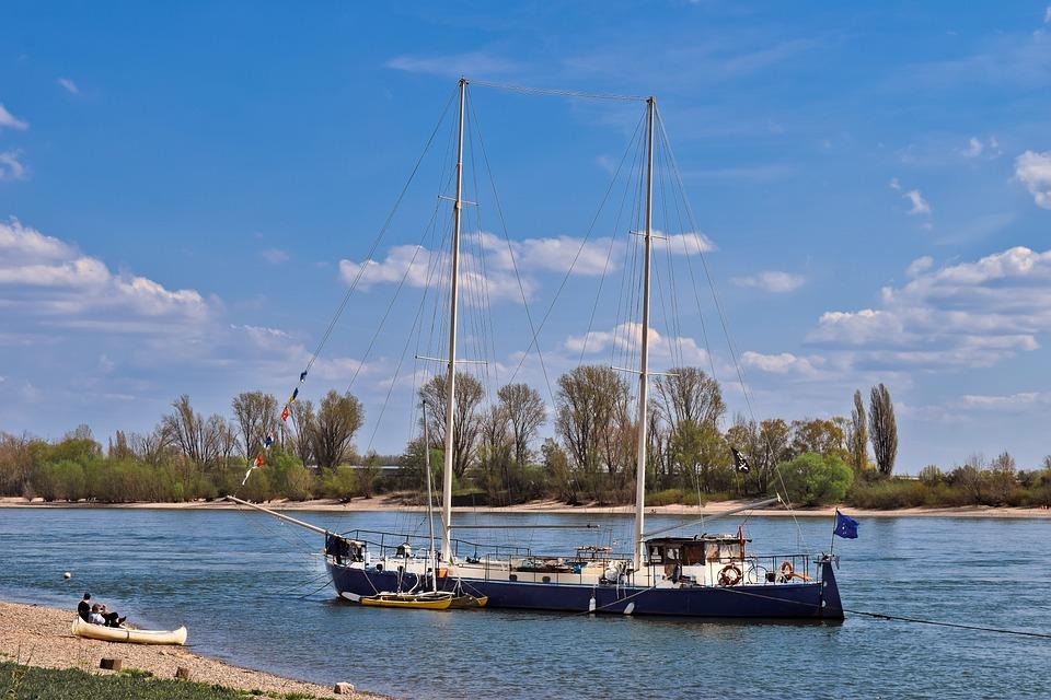 Rhine, River, Water, Landscape, Waters, Rhine River