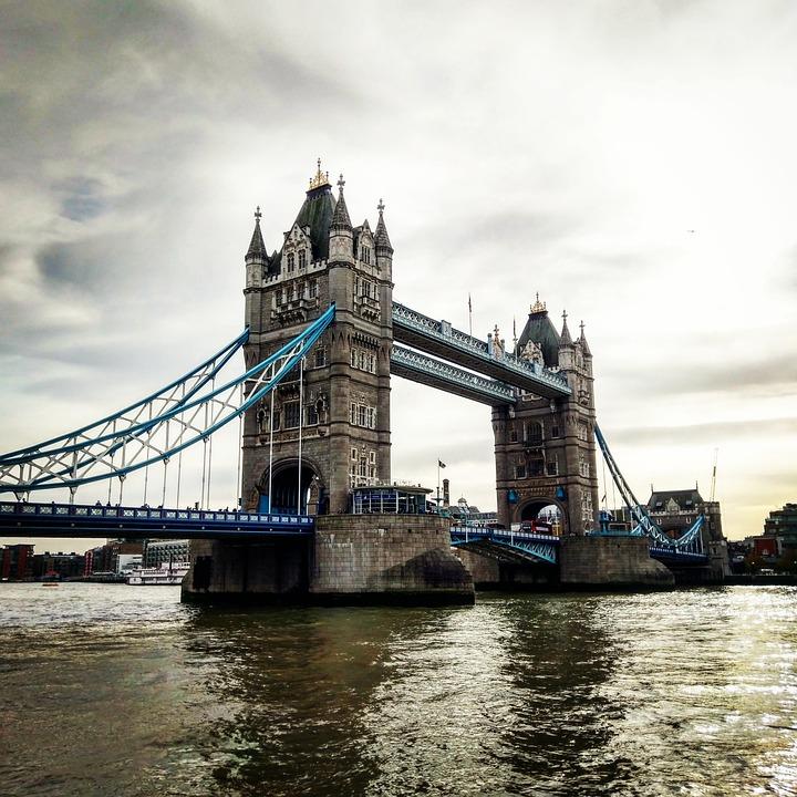 Bridge, River, Architecture, Waters, London, Monument