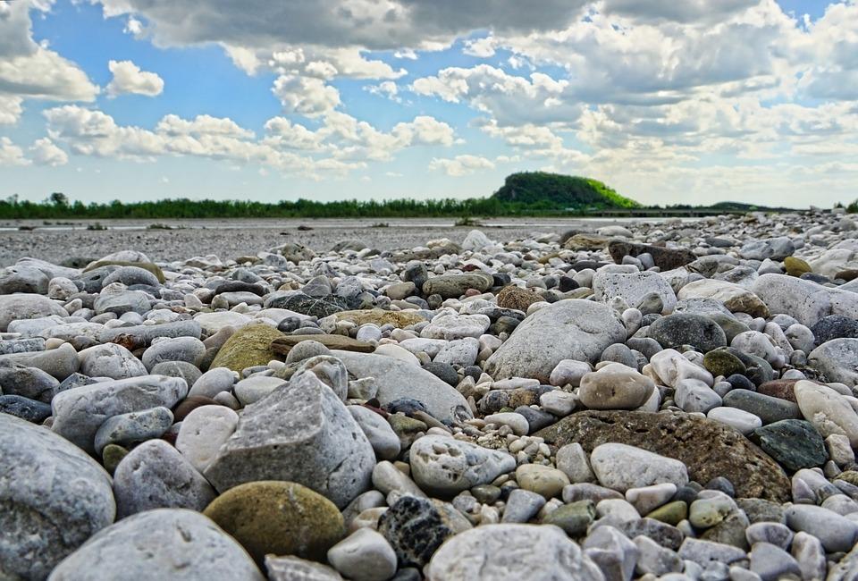 Rock, Nature, Stone, Waters, Landscape, Riverside