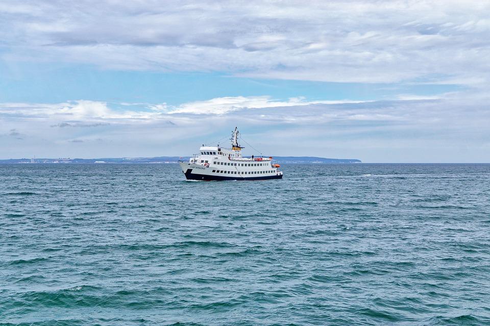Sea, Waters, Ocean, Travel, Sky, Ship, Cap Arkona