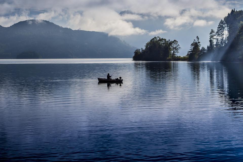 Waters, Lake, Reflection, Nature, Dawn, Sunset, Sky