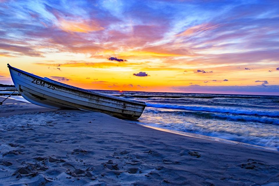 Waters, Sea, Nature, Sunset, Travel, Summer, Sky, Coast