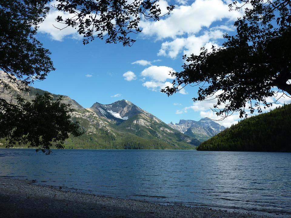 Waterton Lake, Alberta, Canada