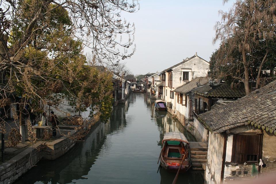 Zhouzhuang, Watertown, The Ancient Town, Bridge, Water