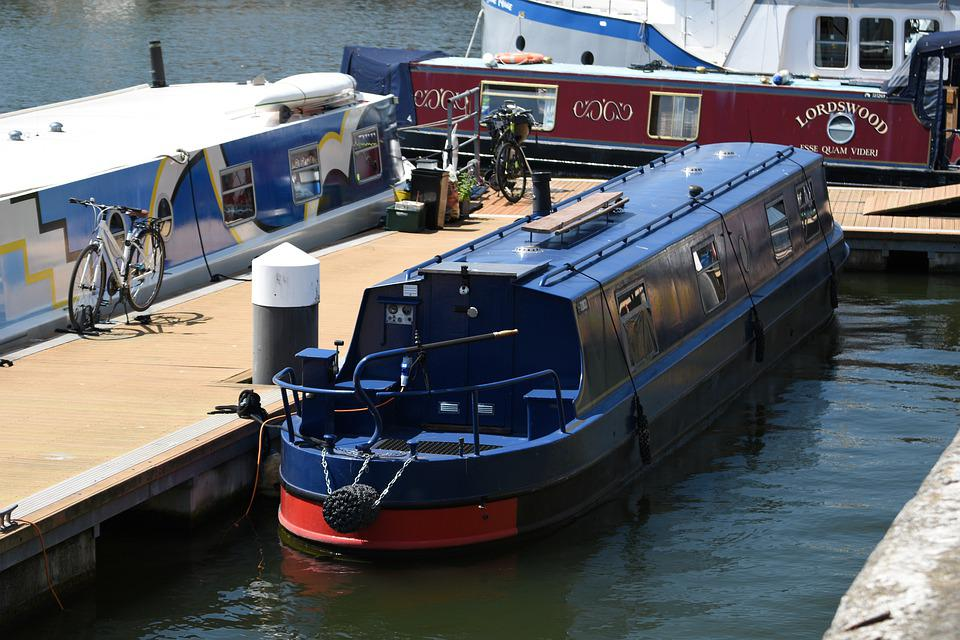 Boat, Waterway, Channel, Water, Travel, Boats