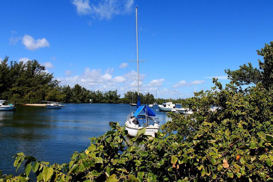 Leisure, Sailboat, Nautical, Waterway, Island, Boat