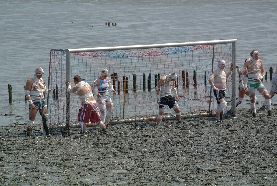 Watt Olümpiade, Watts, Elbe, Schlick, Sport, Bizarre