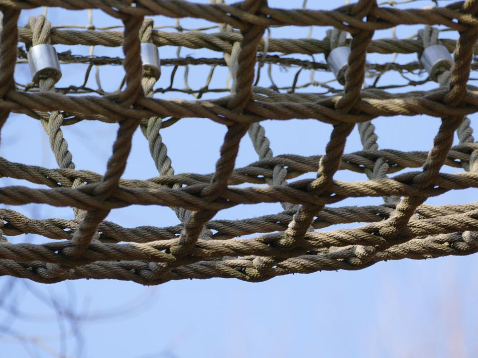 Network, Knot, Networked, Wattle, Mesh Factory