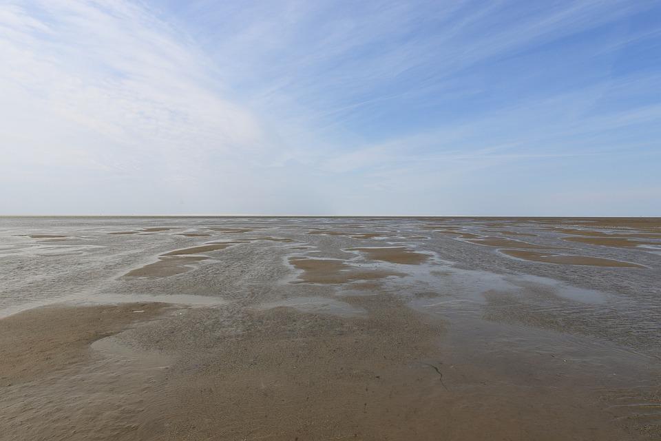 Watts, Westerhever, North Sea