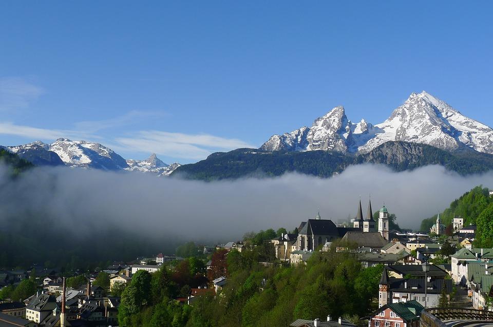 Germany, Berchtesgaden, Watzmann, Alps, Mountains