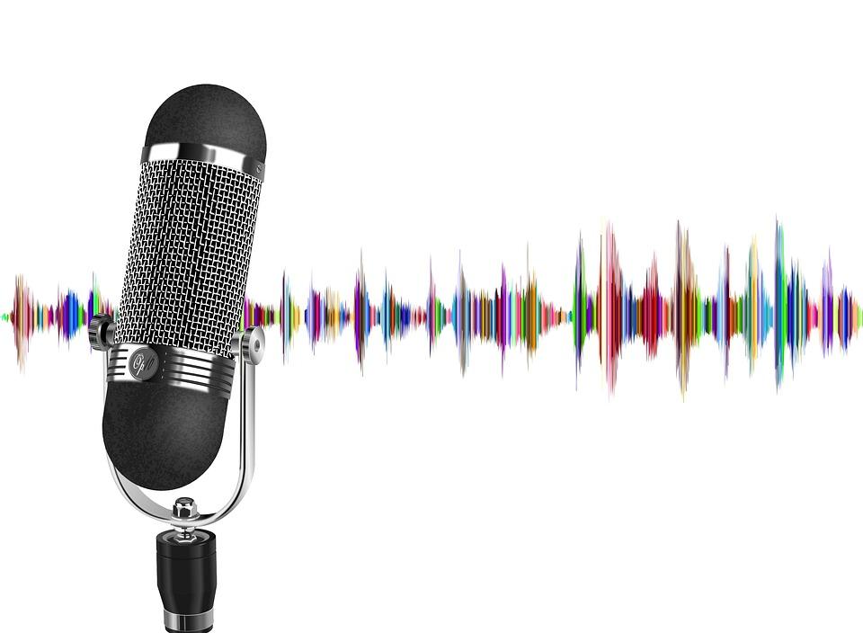 Podcast, Microphone, Wave, Audio, Sound, Recording