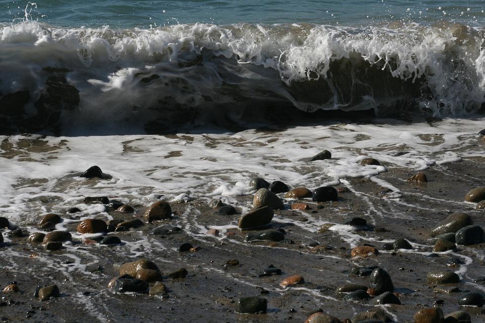 Wave, Ocean, Rough, Power, Motion, Splash, Surf