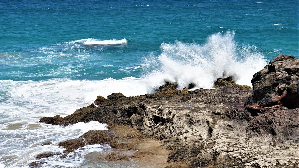 Coast, Sea, Ocean, Wave, Surf, Island, Water