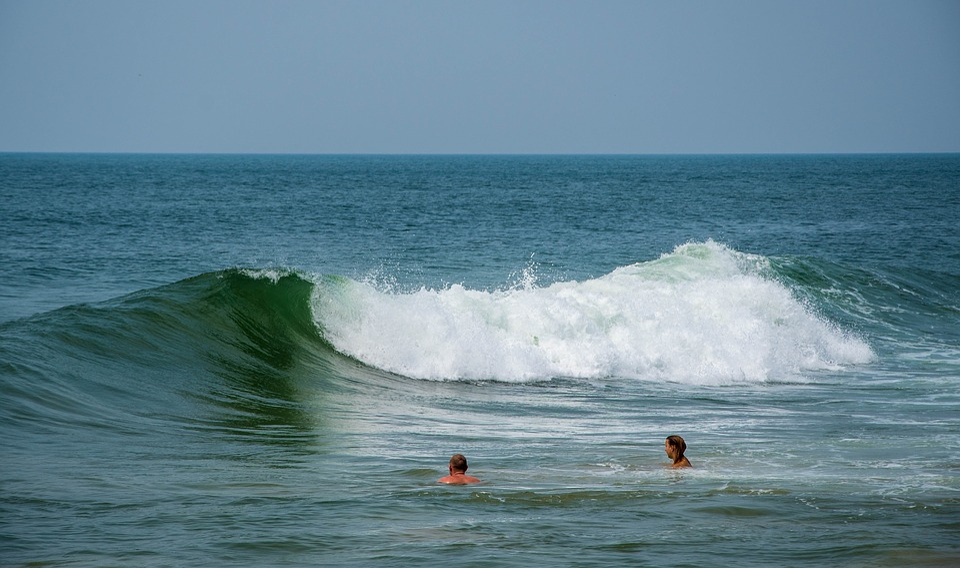 Sea, Wave, Ocean, Water, Blue, Nature, Splash