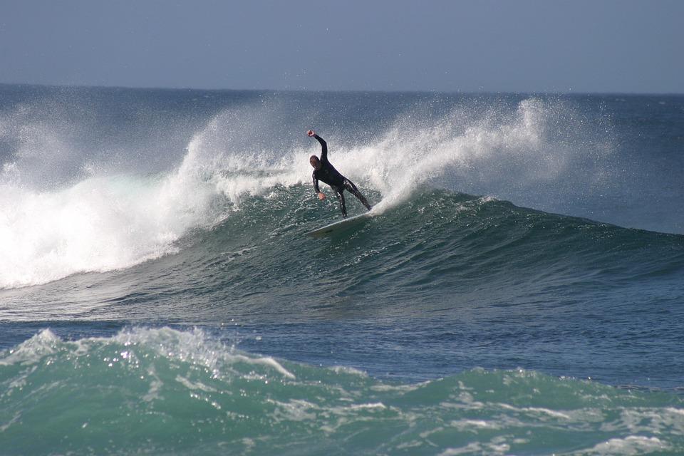Surf, Wave, Water, Ocean, Surfing, Summer, Surfer