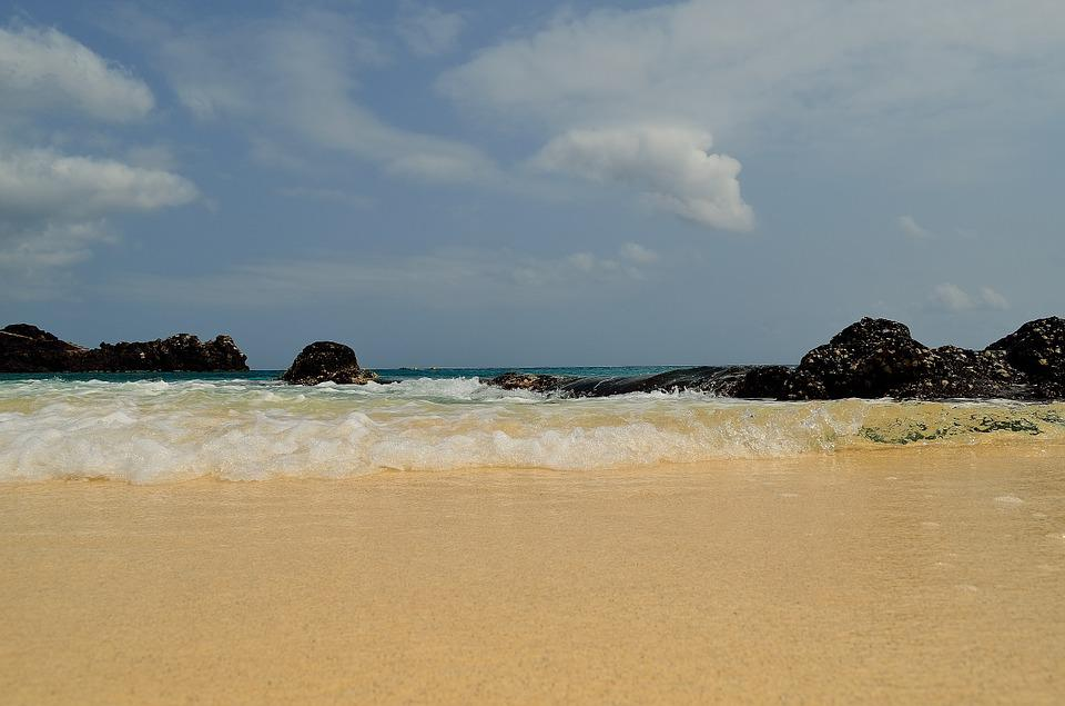 Waves, Ocean, Ascension Island, Seascape, Coastline