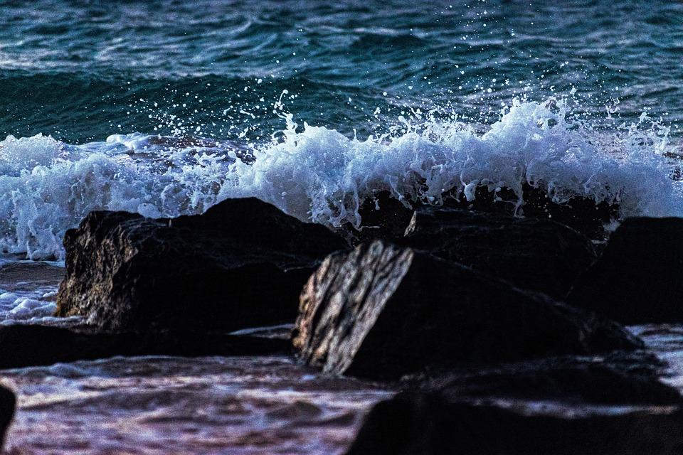 Ocean, Sea, Waves, Beach, Water, Coast, Tropical