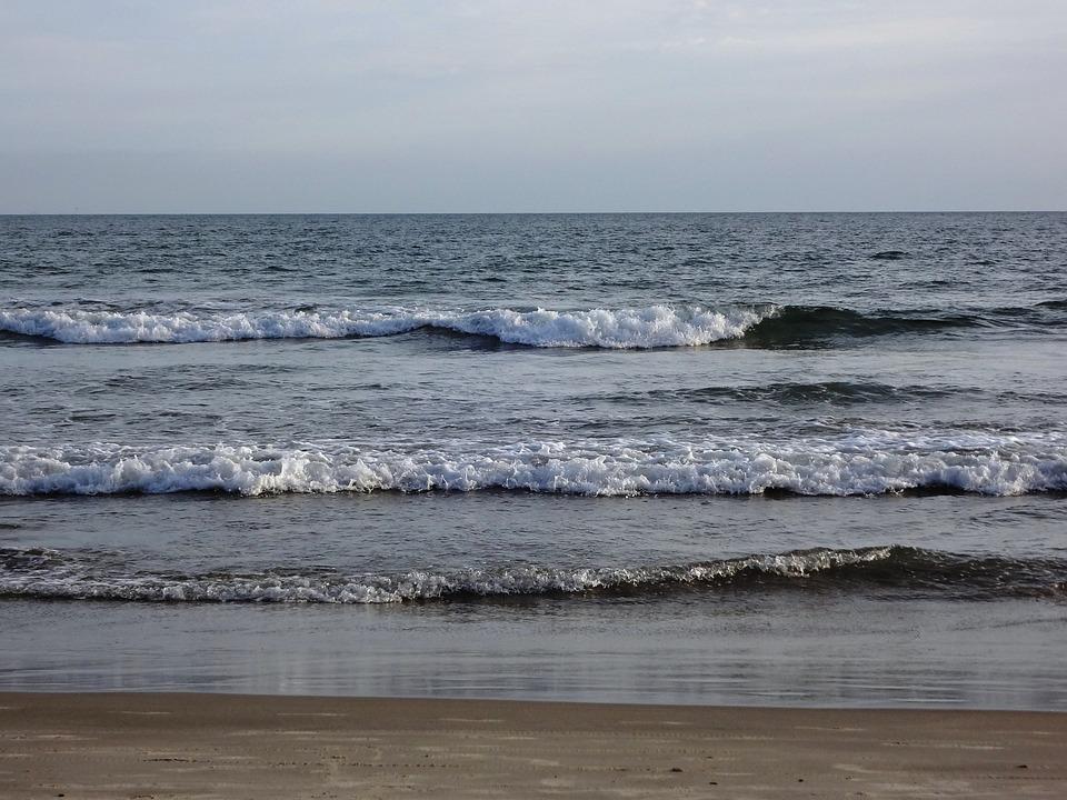 Waves, Beach, Holidays, Summer, Mar, Beira Mar, Quiet