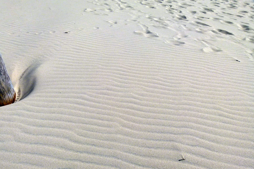 Sand, Sand Dunes, Waves, Tracks, Dune, Sandy, Seashore