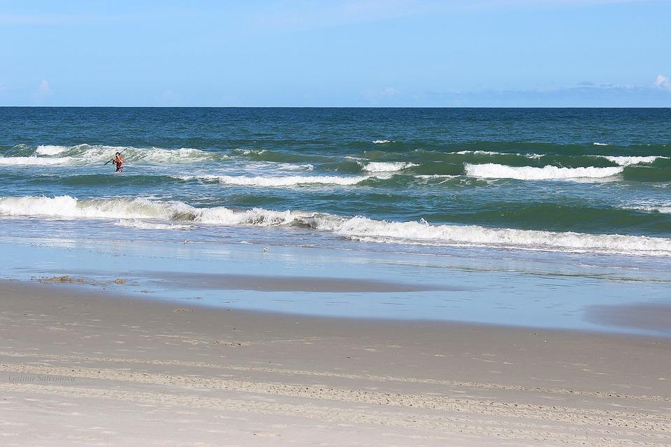 Myrtle Beach South Carolina Waves Ocean