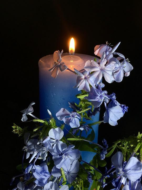 Candle Celestial, Light, Night, Celeste, Bright, Wax