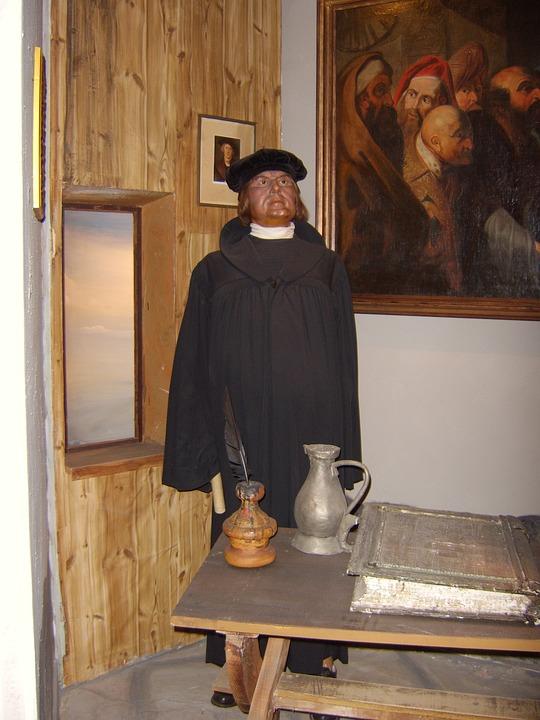 Martin Luther, Wax Figure, Panopticon