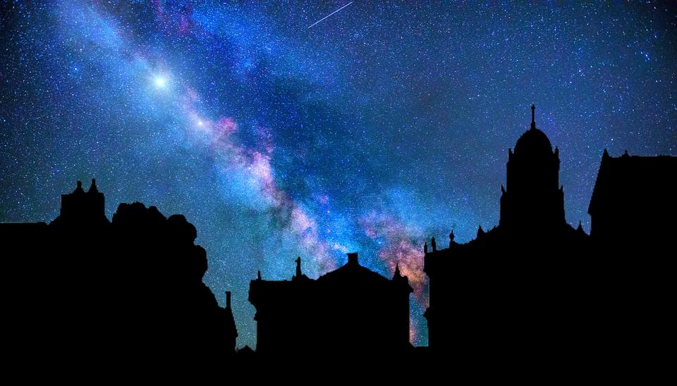 Milky Way, Galaxy, Stars, Space, Sky, Night, Milky, Way