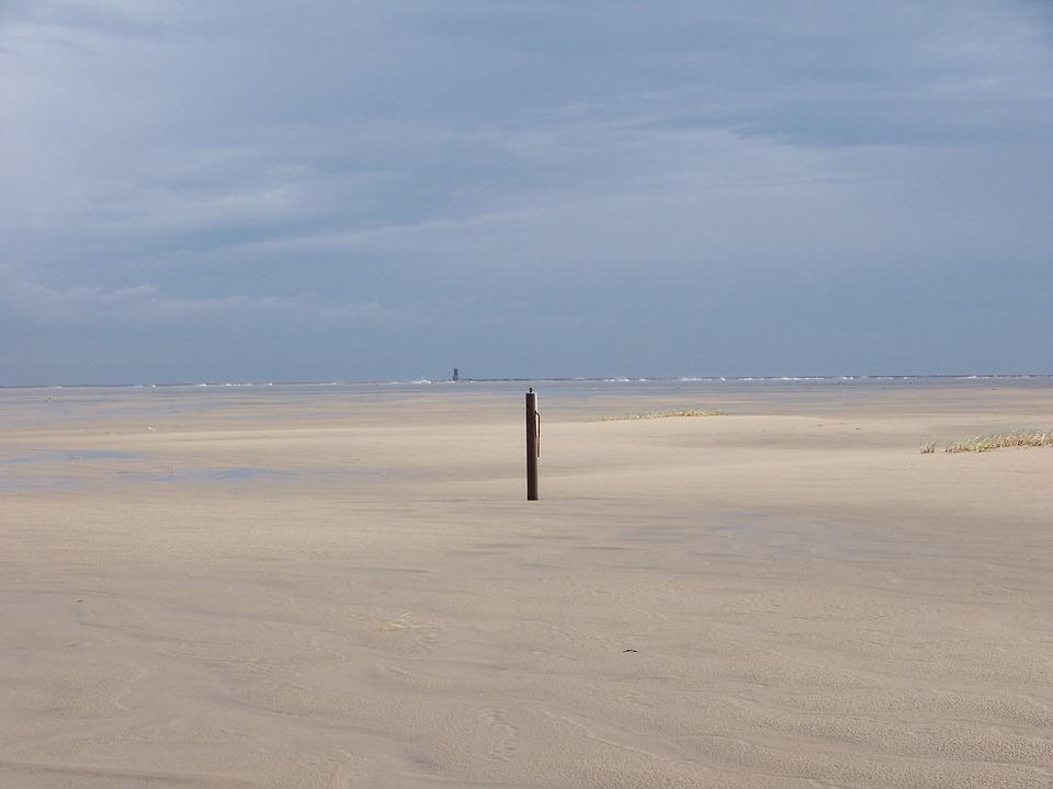 Wadden Sea, Blanker Hans, Waypoint, East Frisia