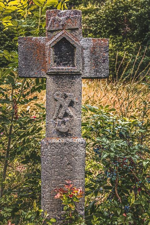 Wayside Cross, Symbol, Characters, Jesus, Religion