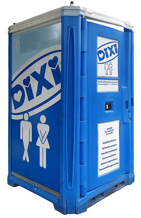 Mobile Toilet, Dixi Loo, Dixi, Bauklo, Toilet, Wc, Loo