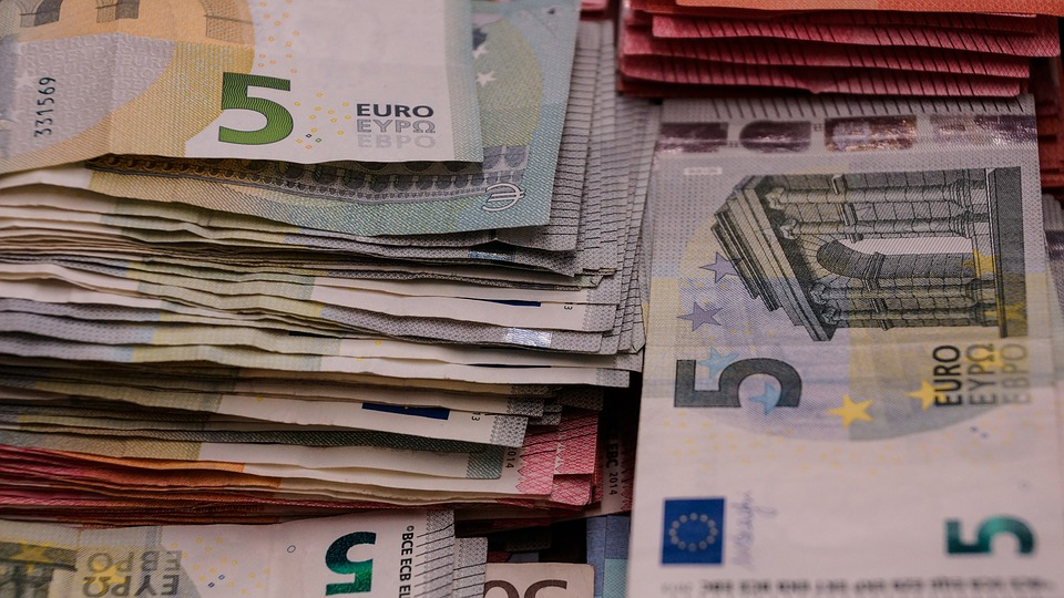 Money, Euro, Riches, Finance, Currency, Cash, Wealth