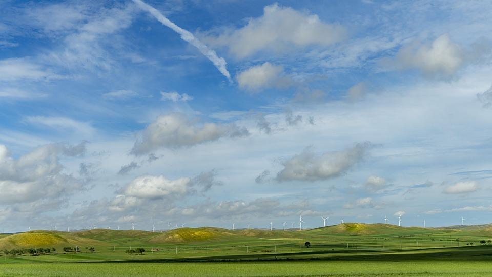 Prairie, Blue Sky And White Clouds, Weather, Color - Free Photo Weather Blue Sky And White Clouds Color Prairie - Max Pixel