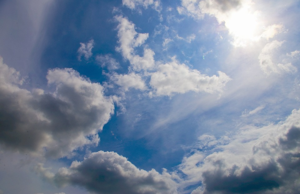 Sky, Clouds, Blue, Weather, Day, Afternoon, Sun