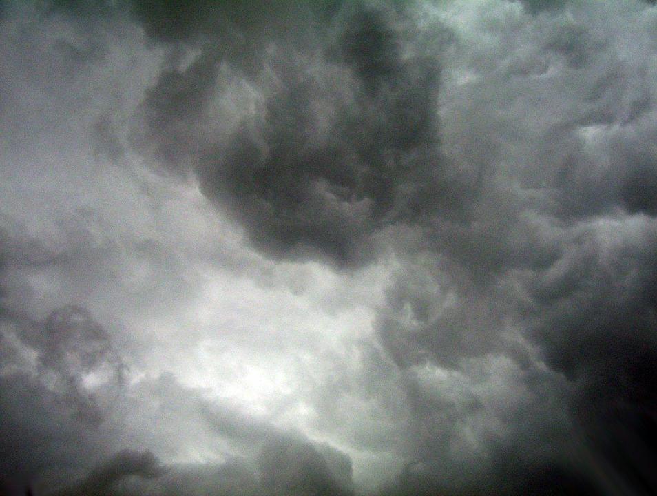 Clouds, Sky, Weather, Environment, Cloudscape, Cumulus