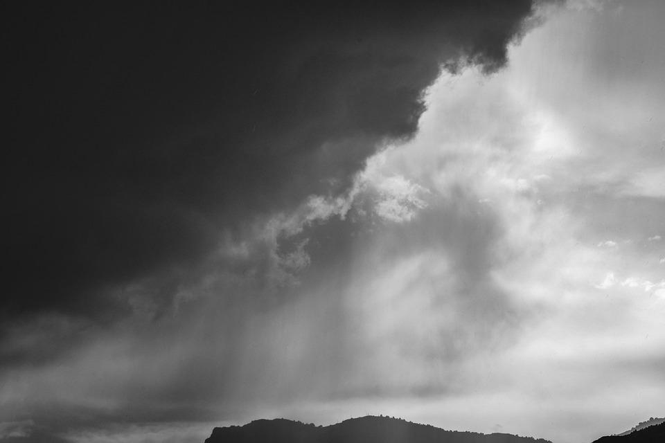 Sky, Clouds, Storm, Rain, Dark, Cloudy, Weather
