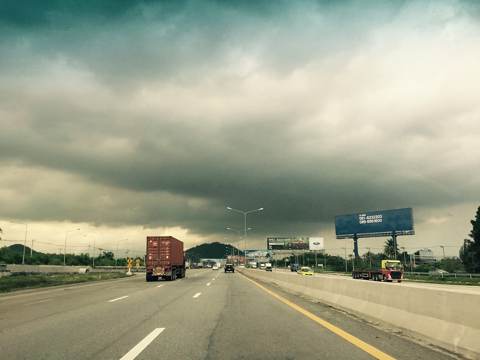 Weather, Sad, Cloudy Sky, Cloudy Day, Road, Motorway