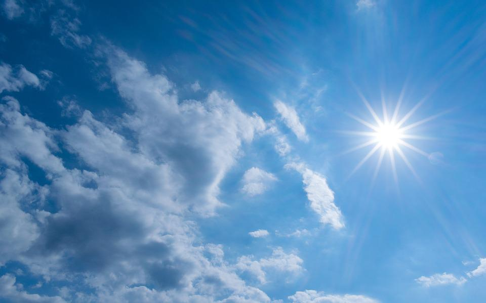Nature, Summer, The Sun, Weather, Fluffy, Sky, Clouds