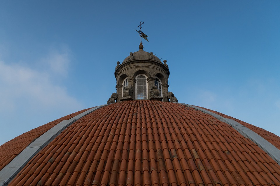 Cupola, Church, Architecture, Dome, Weather Vane