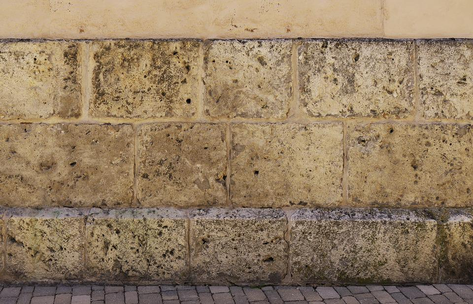 Wall, Stone Wall, Hauswand, Weathered, Dirty, Building