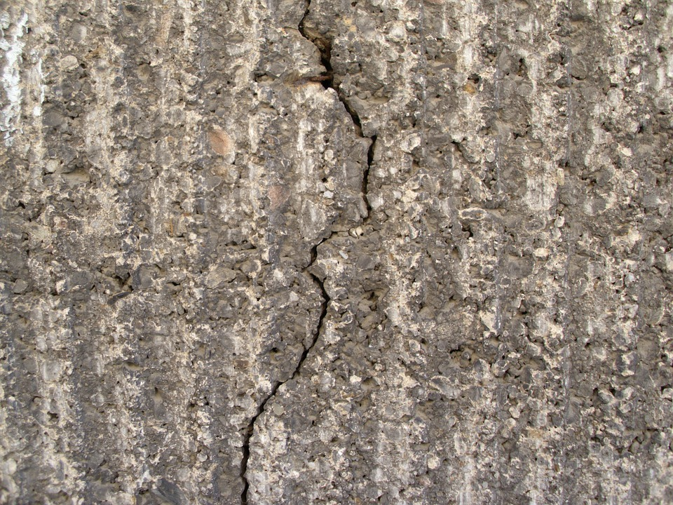 Crack, Weathered, Wall, Stone, Cement, Building