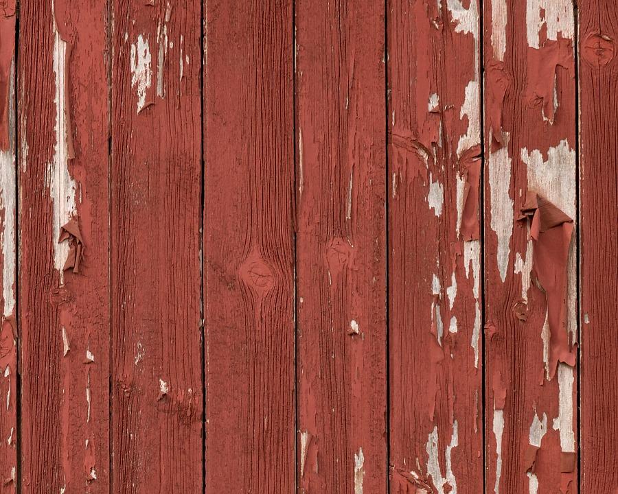 Barn Wood, Texture, Peeling Paint, Weathered, Rustic