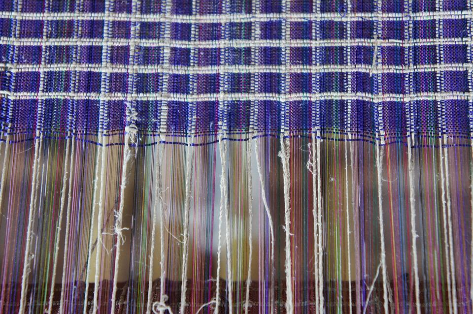Weave, Weaving, Loom, Craft, Substances Produce, Fabric