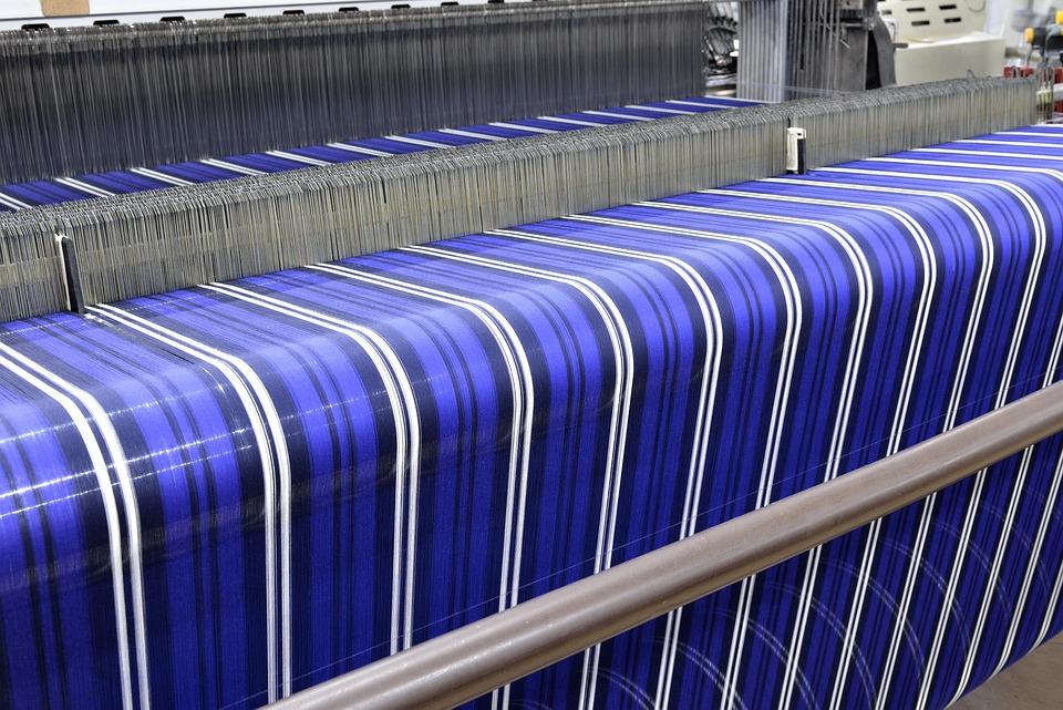 Textile, Weaving, Bench, Factory, Machine, Yarn, Cotton